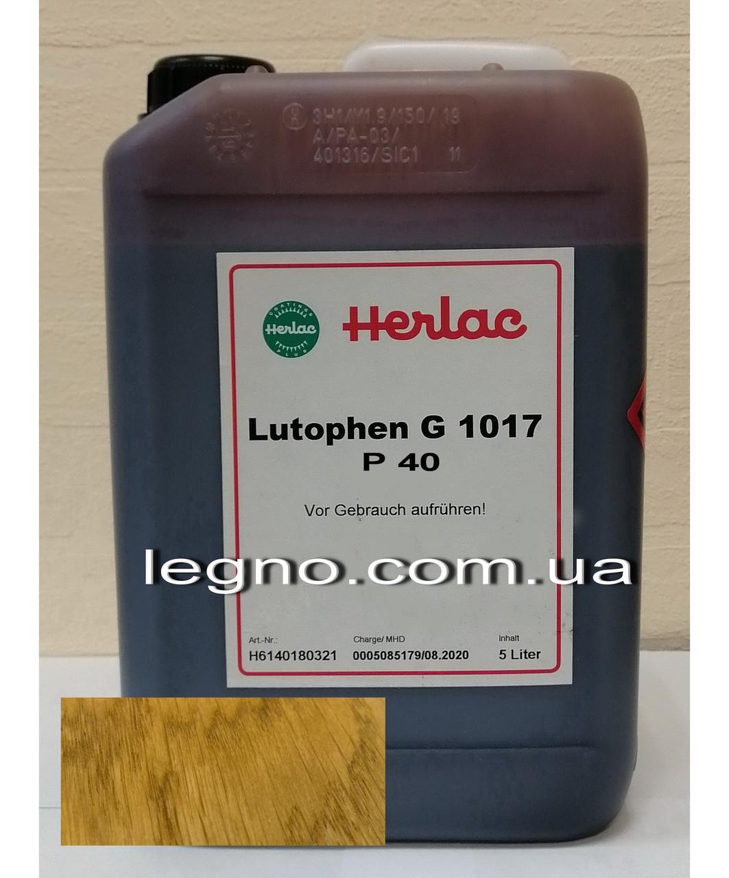 Нітрофарбник (бейц, морилка, просочення, барвник) Лютофен Р40 Бук 5 л Herlac, Німеччина