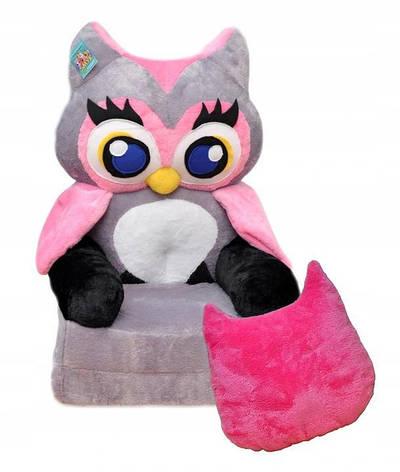 Детское мягкое кресло Owl, фото 2