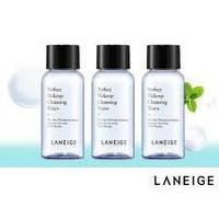 LANEIGE Perfect Makeup Cleansing Water 30 ml, слабокислотная мицеллярная вода (pH 4.5-6.5).