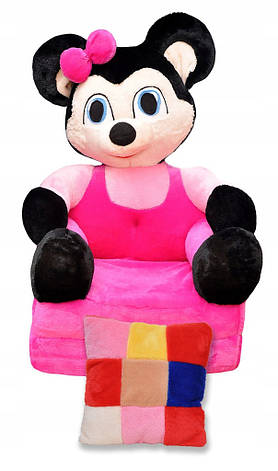 Детское мягкое раскладное кресло Minni, фото 2