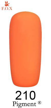 Гель-лак F.O.X Pigment 210, 6мл