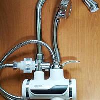Электрический кран-водонагреватель проточного типа для душа Zerix ELW08-EР