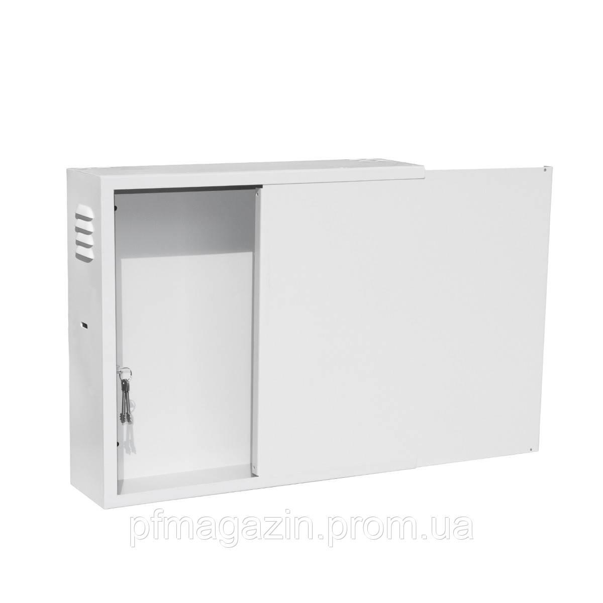 Антивандальний ящик БК-550-З-1-2U (ВхШхГ 500х550х150)