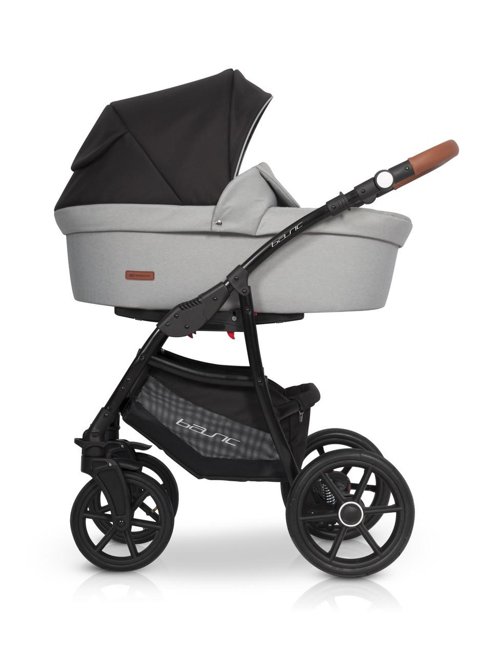 Детская универсальная коляска 3 в 1 Riko Basic 02 Grey Fox