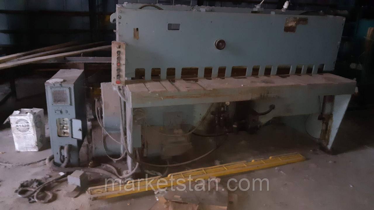 НК3418 Ножницы 6,3*2000 мм, гильотинные пневмомеханические