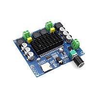 TDA7498 Bluetooth 5.0 модуль підсилювач 2х100 Вт з кардрідером