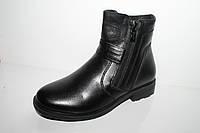 Подростковые кожаные сапоги оптом от производителя Tom.M 5563A (33-38)