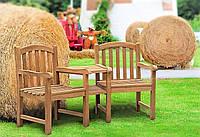 Лавочка скамья со спинкой 1750 х 650 мм от производителя Garden park bench 15
