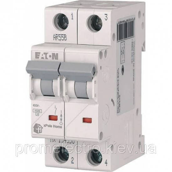 Автоматический выключатель Eaton (Moeller) HL 4,5kA х-ка C 2P 32А (194774)