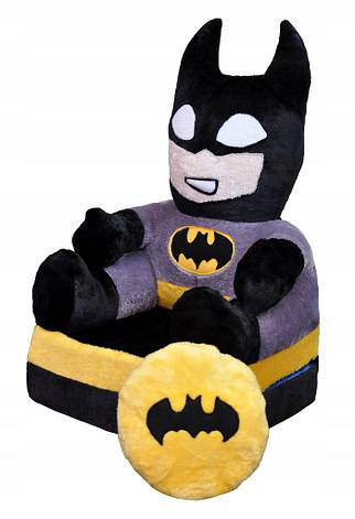 Детское мягкое раскладное кресло Batman, фото 2