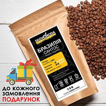 Кофе свежеобжаренный молотый арабика Бразилия Сантос