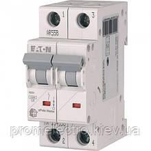Автоматический выключатель Eaton (Moeller) HL 4,5kA х-ка C 2P 50А (194776)