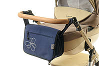 Сумка на коляску Ok Style Цветок Темно синий, фото 1