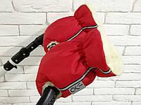 Рукавички-Муфта на коляску Ok Style New Красный, фото 1