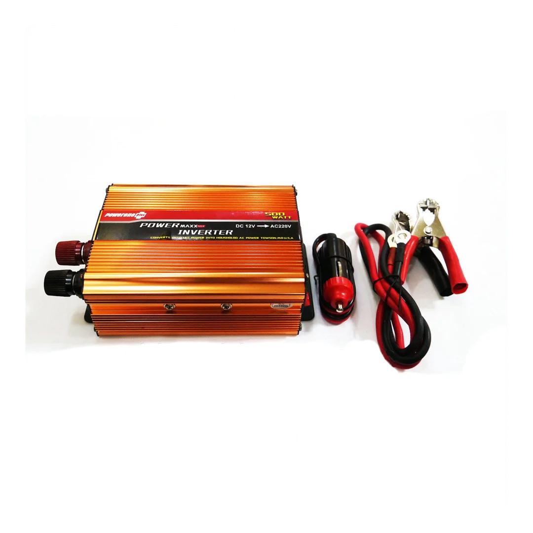 Преобразователь напряжения (инвертор) 12-220V UKC 500W - Золотой