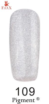 Гель-лак F.O.X Pigment 109, 6мл