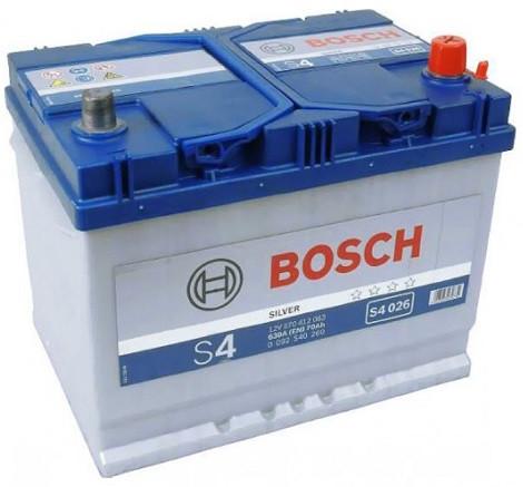 Почему выбираютBosch S4 Silver 6СТ-70 Евро Азия