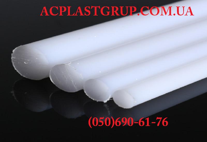 Полиацеталь (РОМ-С), стержень белый, диаметр 90.0 мм, длина 1000 мм.