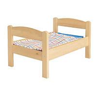 DUKTIG Кукольная кровать с к-том постельного белья