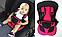 Детское бескаркасное автокресло Multi Function NY-26 (красное), фото 2