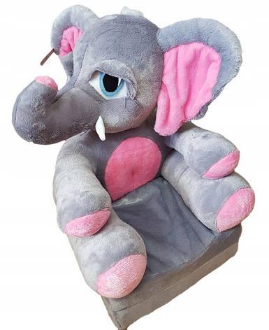 Детское мягкое раскладное кресло Elephant, фото 2