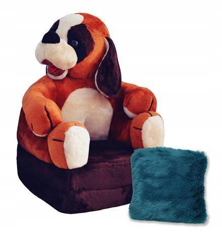 Детское мягкое раскладное кресло Dog, фото 2