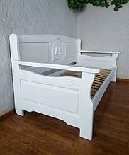 """Белый диван - кровать с декором """"Орфей Премиум"""" 3"""