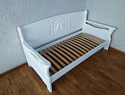"""Белый диван - кровать с декором """"Орфей Премиум"""" 4"""