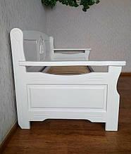 """Белый диван - кровать с декором """"Орфей Премиум"""" 6"""