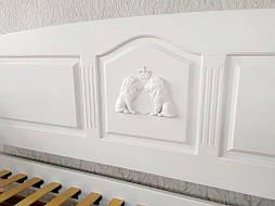 """Белый диван - кровать с декором """"Орфей Премиум"""" 9"""