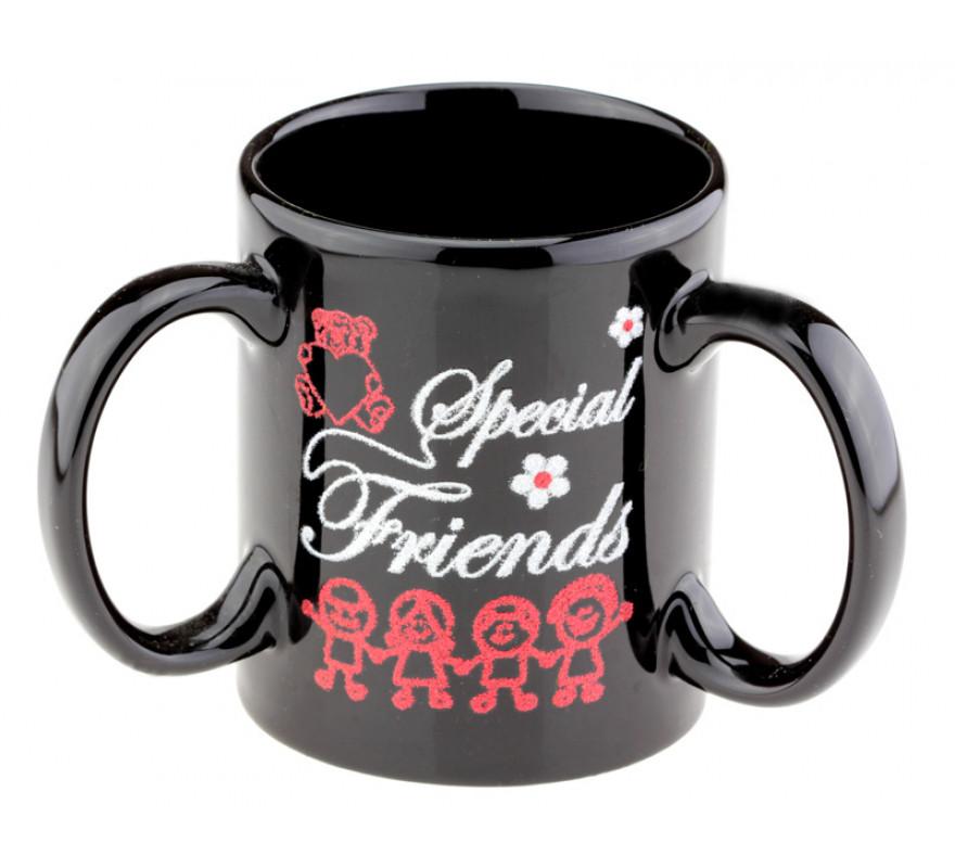 Оригинальная чашка с 3 ручками Special Friends