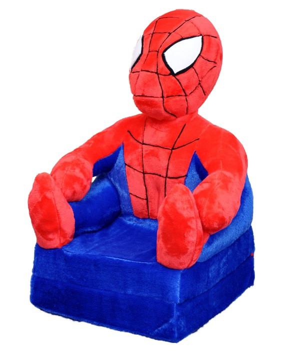 Детское мягкое раскладное кресло Spider man