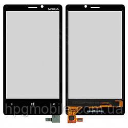 Сенсорный экран для Nokia Lumia 920, черный, оригинал