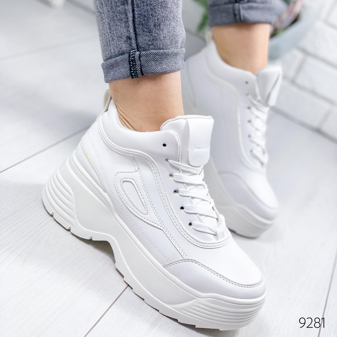 Кроссовки женские  Filli белые
