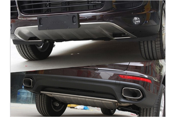 Передняя и задняя накладки (2015-2017) Porsche Cayenne 2010-2017 гг.