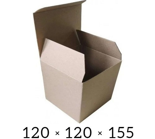 Самосборная картонная коробка - 120 × 120 × 155 на 0,8 кг