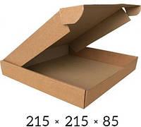 Самосборная картонная коробка - 215 × 215 × 85 на 1,4 кг