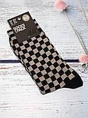 Шкарпетки чоловічі H&M із шахматним візерунком розмір 40-42 (високі)