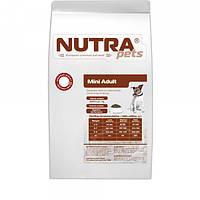 Корм сухой для взрослых собак малых пород NUTRA pets Regular Mini Adult 15 кг