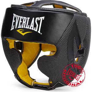 Оригинальный защитный боксерский шлем Everlast EverCool черный