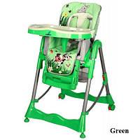 Стульчик для кормления Caretero Magnus Fun Green