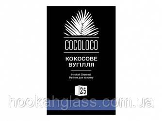 Кокосовый уголь для кальяна Cocoloco (Khmara 72шт.)