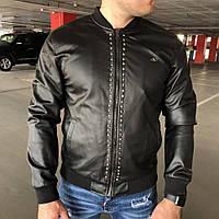 Valentino Rockstud Untitled Jacket Leather Black