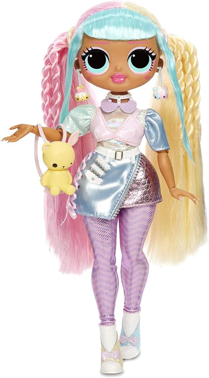 Кукла LOL Surprise OMG Candylicious 28 см Серия 3 - Леди Бон-Бон с аксессуарами 565109
