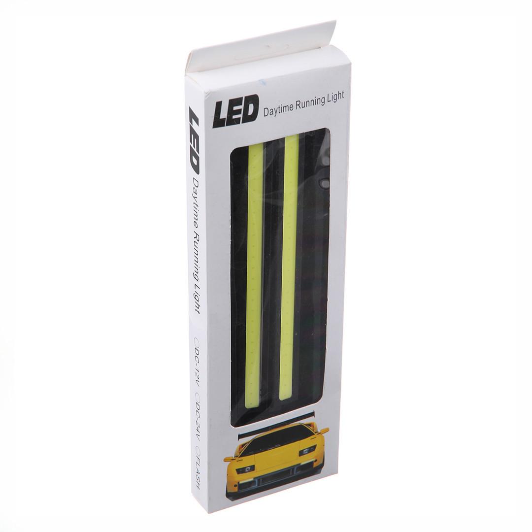 Дневные ходовые огни для машины Led Daytime (универсальные светодиодные ленты, дневная подсветка)