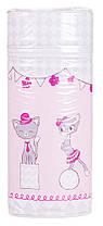 Термоконтейнер Ceba Baby Jumbo 70*80*230мм универсальный  белый-розовый (две кошечки)