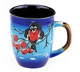 Чашка для чая керамическая Снеговик, фото 2