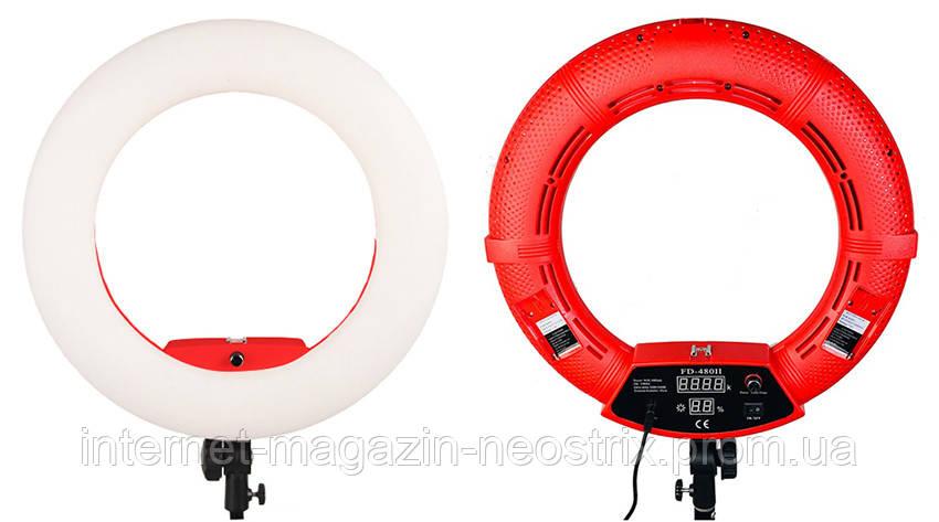 Кольцевая LED лампа Steiner FD-480 II 3200-5500K 96W Red