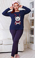 Пижама большого размера 82115