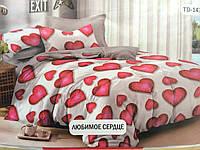 """Комплект постельного белья """"Тиротекс"""" - Любимое сердце (2х - двухспальный размер)"""